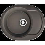 Мойка Manmaru 62-DC Omoikiri, 620х500 мм, 4993354, , 10 588 руб., 4993354, Omoikiri, Мойки гранитные