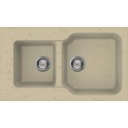 Мойка Maru 86-2-CH Omoikiri, 860х500 мм, 4993291, , 27 079 руб., 4993291, Omoikiri, Мойки гранитные