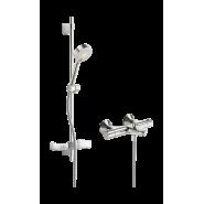 Душевой комплект Oras Safira, 100 мм/915 мм, 1348U, , 27 411 руб., 1348U, Oras, Душевые комплекты