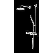 Внешняя часть смесителя с rain shower  230/12 V Oras Signa, 250х250 мм/1100 мм, 2271, , 138 487 руб., 2271, Oras, Душевые комплекты