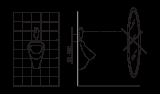 Смывное устройство для писсуара Oras 6 V Electra, 6568