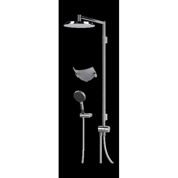 Душевой комплект с душем rain shower Oras Hydra, 238 мм/1185 мм, 392