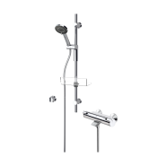Смеситель для ванны и душа с комплектом Oras Optima, 85 мм/720 мм, 7149U, , 18 686 руб., 7149U, Oras, Душевые комплекты