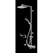 Смеситель с верхним душем rain shower Oras Optima, 197х257 мм/1612 мм, 7193U, , 48 211 руб., 7193U, Oras, Душевые стойки со смесителем