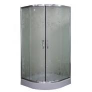 Душевой уголок Parly 90*90 см, Z91, , 14 454 руб., Z91, Parly, Душевые ограждения и шторки для ванн