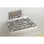 Сиденье для душа OVO-B-TEXT Ravak OVO-B, B8F0000030, , 17 892 руб., B8F0000030, Ravak, Аксессуары для ванной комнаты