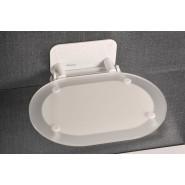 Сиденье для душа CHROME CLEAR/WHITE Ravak OVO-Chrome, B8F0000028, , 20 942 руб., B8F0000028, Ravak, Аксессуары для ванной комнаты