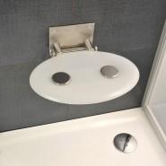 Сиденье для душа OVO-P-OPAL Ravak OVO-P, B8F0000001, , 12 390 руб., B8F0000001, Ravak, Аксессуары для ванной комнаты