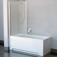 Шторка для ванны CVS1-80 L Ravak Chrome,  7QL40100Z1, , 21 767 руб., 7QL40100Z1, Ravak, Душевые ограждения и шторки для ванн