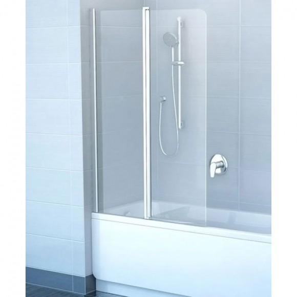 Шторка для ванны CVS2-100 R Ravak Chrome,  7QRA0100Z1