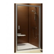 Двери душевые BLDP2-100 Ravak Blix, 0PVA0C00ZG, , 35 350 руб., 0PVA0C00ZG, Ravak, Душевые двери
