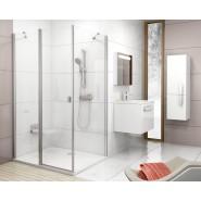 Душевая стенка CPS-80  Ravak Chrome, 9QV40C00Z1, , 25 724 руб., 9QV40C00Z1, Ravak, Душевые ограждения и шторки для ванн
