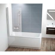 Шторка для ванны CVS1-80 R Ravak Chrome,  7QR40U00Z1, , 21 800 руб., 7QR40U00Z1, Ravak, Душевые ограждения и шторки для ванн