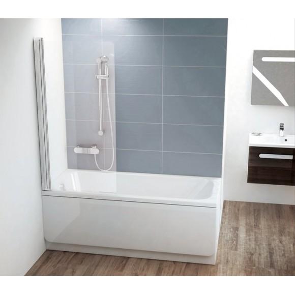 Шторка для ванны CVS1-80 R Ravak Chrome,  7QR40C00Z1