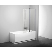 Шторка для ванны CVS2-100 L Ravak Chrome,  7QLA0U00Z1, , 29 500 руб., 7QLA0U00Z1, Ravak, Душевые ограждения и шторки для ванн