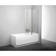 Шторка для ванны CVS2-100 R Ravak Chrome,  7QRA0C00Z1