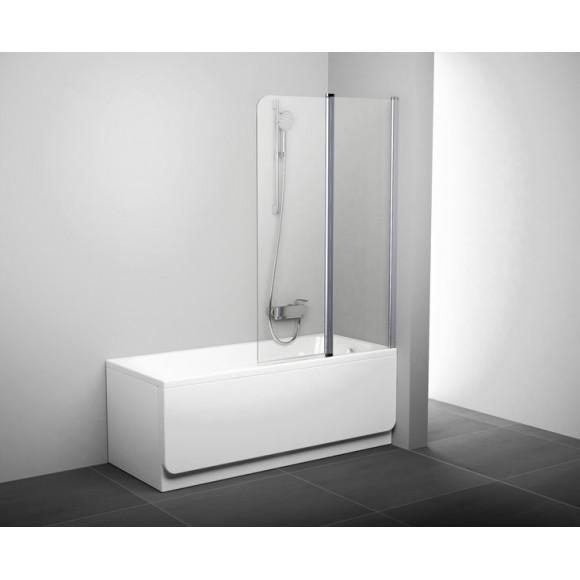 Шторка для ванны CVS2-100 R Ravak Chrome,  7QRA0U00Z1