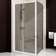 Душевая стенка BLPS-80 Ravak Blix, 9BH40100ZH, , 22 600 руб., 9BH40100ZH, Ravak, Душевые ограждения и шторки для ванн