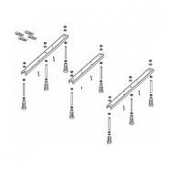 Опорные конструкции для поддонов Legset Basel 406 & 416 & 432 -8 legs Riho, POOTSET64, , 4 835 руб., POOTSET64, Riho, Комплектующие для поддонов