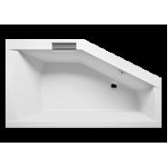 Ванна акриловая левая/правая GETA Riho, 160х90 см, BA87, , 50 695 руб., BA87, Riho, Ванны  акриловые асимметричные