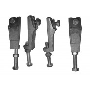 Ножки для чугунных ванн Roca, 150412330, , 1 141 руб., 150412330, Roca, Комплектующие для ванн