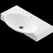 Раковина Sanita Luxe Infinity 76 (Signo), 765х454 мм, 23397, , 3 662 руб., 23397, Sanita Luxe, Раковины накладные