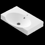 Раковина Sanita Luxe Infinity 65 (Signo) INF65SLWB01, 655х443 мм, 27237, , 2 540 руб., 27237, Sanita Luxe, Раковины накладные