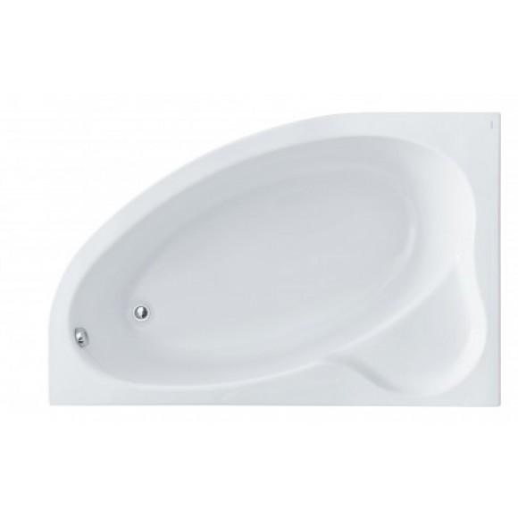 Ванна акриловая левосторонняя с аэрогидромассажем Comfort Plus Santek Эдера, 170х110 см, 1.WH11.2.414