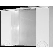 Зеркало Antibes 105*70 TOPLINE шкаф правый со светильником, ZAN 105-02R