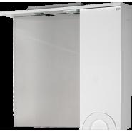 Зеркало Antibes 85*70 TOPLINE шкаф правый со светильником, ZAN 85-01R