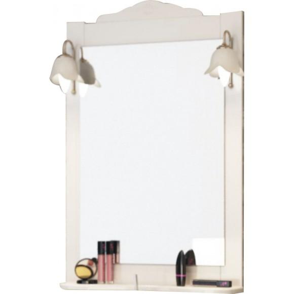 Зеркало Classic 65 со светильниками и полкой TOPLINE, ZCL 65