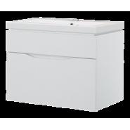 Тумба Monaco 60-01 TOPLINE  подвесная с раковиной, TMO 60-01W K, , 15 900 руб., TMO 60-01W K, Topline, Мебель для ванных комнат