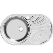 Раковина кухонная Фаворит Ukinox, 76х47 см, правая/левая