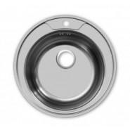 Раковина кухонная  ECO Round ECO Ukinox, 49 см., , 880 руб., R490 ECO Round, Ukinox, Мойки из нержавеющей стали