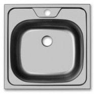 Раковина кухонная Классика Ukinox, 48х48 см, , 1 100 руб., CLM480.480 ---5C 0C, Ukinox, Мойки из нержавеющей стали