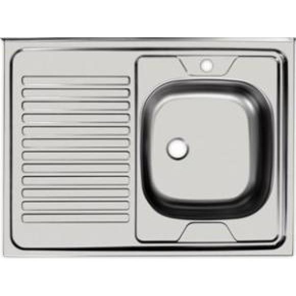 Раковина кухонная Стандарт Ukinox, STD800.600 ---4C 0L,7801