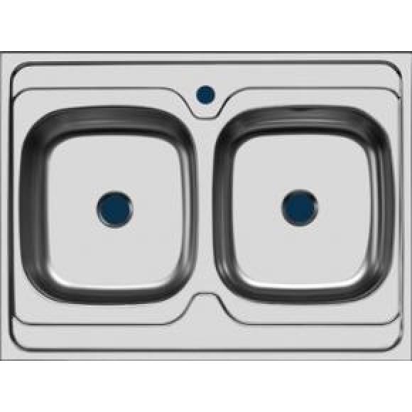 Раковина кухоннаяСтандарт Ukinox, STM800.600 20--5C 3C, 30495