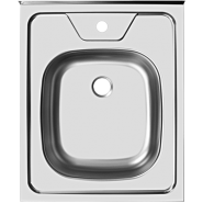 Мойка кухонная Ukinox Стандарт 50*60 (5с), накладная, STD500.600, , 1 080 руб., STD500.600 ---5C 0C-, Ukinox, Мойки из нержавеющей стали