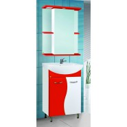 Зеркальный шкаф с подсветкой De Rossa Мадрид 550, 550х700 мм, 10660, , 3 594 руб., 10660, De Rossa, Зеркальные шкафы