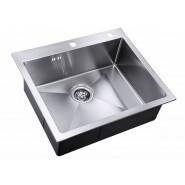 Мойка для кухни ZorG Inox RX, 590х510 мм, RX-5951, , 19 150 руб., RX-5951, Zorg, Мойки из нержавеющей стали