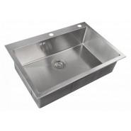 Мойка для кухни ZorG Inox RX, 750х510 мм, RX-7551, , 16 850 руб., RX-7551, Zorg, Мойки из нержавеющей стали