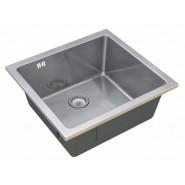 Мойка для кухни Filo ZorG Steel Hammer, 440х440 мм, SH R 4444, , 12 600 руб., SH R 4444, Zorg, Мойки из нержавеющей стали