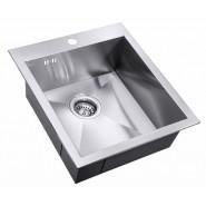 Мойка для кухни Edolvo ZorG Steel Hammer, 450х510 мм, SH X 4551, , 13 200 руб., SH X 4551, Zorg, Мойки из нержавеющей стали
