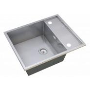 Мойка для кухни Diva ZorG Steel Hammer, 600х500 мм, SH X 6050, , 14 300 руб., SH X 6050, Zorg, Мойки из нержавеющей стали