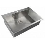Мойка для кухни Kantos ZorG Steel Hammer, 750х510 мм, SH X 7551, , 14 900 руб., SH X 7551, Zorg, Мойки из нержавеющей стали