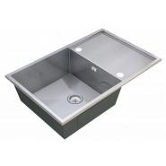 Мойка для кухни Elos ZorG Steel Hammer, 780х500 мм, SH X 7850, , 14 900 руб., SH X 7850, Zorg, Мойки из нержавеющей стали