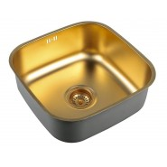 Мойка для кухни ZorG PVD, 425х425 мм, SZR 4040 BRONZE