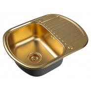 Мойка для кухни ZorG PVD, 620х490 мм, SZR-6249 BRONZE, , 11 250 руб., SZR-6249 BRONZE, Zorg, Мойки из нержавеющей стали