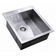 Мойка для кухни ZorG Inox X, 450х510 мм, X-4551, , 16 400 руб., X-4551, Zorg, Мойки из нержавеющей стали