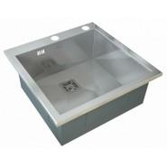 Мойка для кухни ZorG Inox X, 510х510 мм, X-5151GX, , 14 550 руб., X-5151GX, Zorg, Мойки из нержавеющей стали